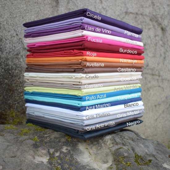 Colección SATÉN CLASSIC Satén de algodón de 300 hilos · 12 colores